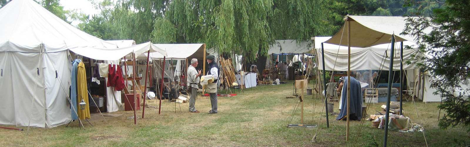 Wasaga Under Siege: River Run, 2011 - Main Encampment